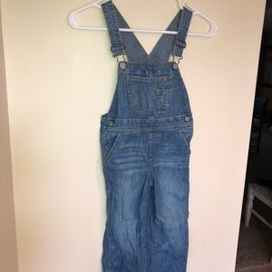 Gap Baby Gap long blue denim overalls